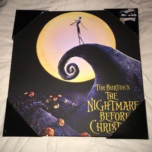 The Nightmare Before Christmas Wall Art - LAST CHANCE—Nightmare Before Christmas Picture